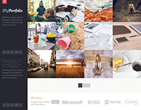 MyPortfolio WordPress Theme for Designers, Photographer