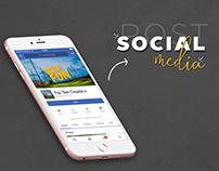 Social Media Top Tee