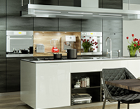 Modern Kitchen | CGI