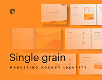 Single Grain - tech company rebrand