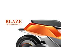 Blaze: E Scooter Concept