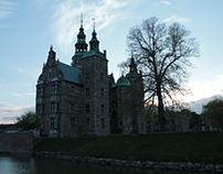 Rosenborg Castle Gardens in Copenhagen, Denmark