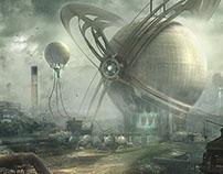 Personal Sci-Fi concept arts