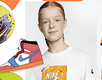 Nike Kids Sketchbook research
