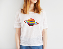 Unknown Planet T-Shirt Design