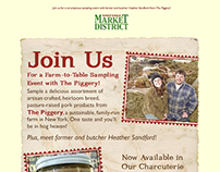 Giant Eagle Market District Piggery Promo Email