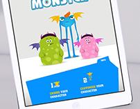 Monsters University Interactive Magazine