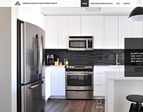 American Home Appliance - Redesign