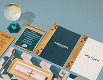 MIDTOWN Kitchen & Bar - Branding