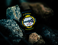Casia G-Shock x Darker Than Wax