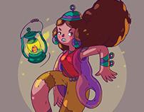 Deena & the Lamp