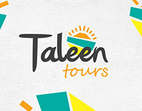 Taleen Tours Branding