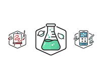 Icon/Badge Set: DonorsChoose.org