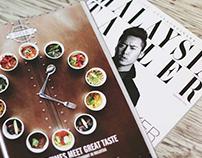 Magazine advertising for Malaysia Tatler