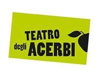 TEATRO DEGLI ACERBI - Immagine coordinata