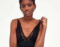 ZARA TRF Lace bodysuit