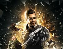 Deus Ex : Mankind Divided - Pochette de jeu