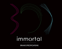 Immortal - Brand Identity and Package Design
