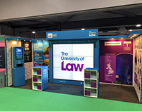 The University of Law - Exhibition Stand