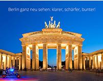 Optiker Berlin website design