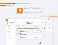 Harvest - Redesign