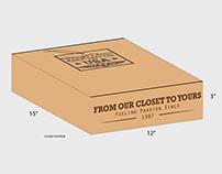 Napa Wooden Box POP Display