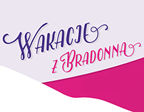 Bradonna: facebook cover picture