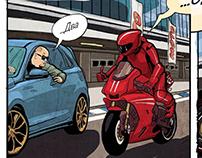 Moto magazine Comics