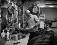 Barber Shop with a little sense of nostalgia