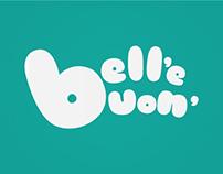 """Logo proposal for Fondazione Valenzi's """"Bell' e' buon"""""""