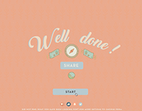 Interactive web design