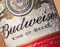 Budweiser - Copy y edición de fotos.