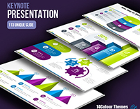 Space-Startup Business Keynote Presentation Template