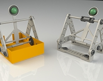 Throwbot! 1st place - Thingiverse toy design challenge