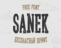 Sanek Cyrillic // Free Typeface