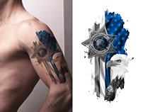Tattoo Design USA theme