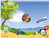 Ceres Start Fresh Facebook Game - Asset design