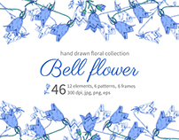 Bell flowers collection