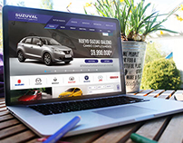 Suzuval Car Dealer Website Redesign