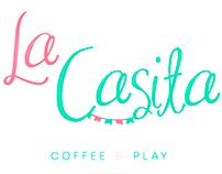 La casita Coffee & Play corporate identity