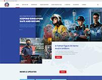 Ministry of Home Affair Website UI