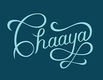 Logo for Chaaya - Logotype Design