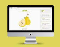 Pears | Website Design