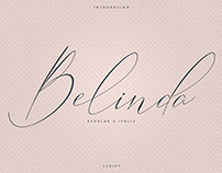 Belinda Script. Free font!