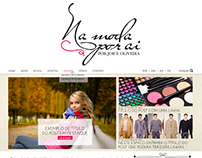 Na moda por aí - UI for WordPress