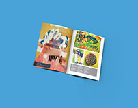 Work published in the French Art Magazine