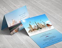 Invitation Card for Opulent Tourism