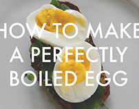 How to Make a Perfectly Boiled Egg