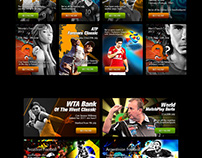 Sports Gaming bet banners - 2012