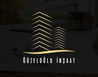 Güzeloğlu inşaat logo & web site çalışması - Pienart